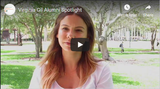 Alumni spotlight video screen shot